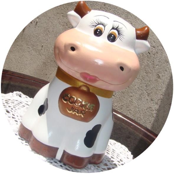 vacas de ceramica