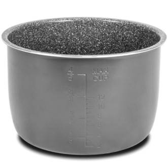 Cubeta tricapa cerámica de piedra - Revestimiento ecológico. 6 litros