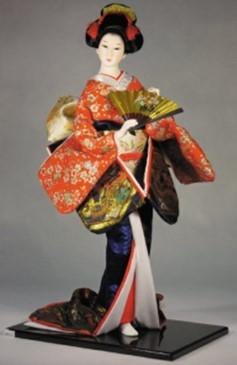Muñeca de cerámica japonesa
