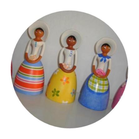 Muñecas de cerámica