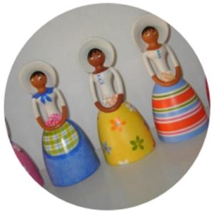Muñecas de cerámica p