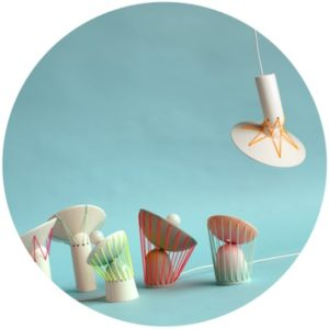 lampara ceramica