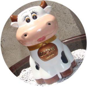 vacas de cerámica