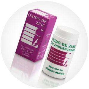 ZnO óxido de cinc