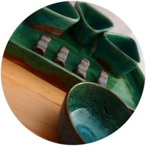 bandejas de cerámica