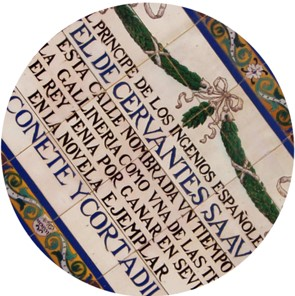 letras de cerámica
