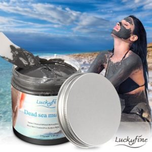 mar muerto barro mascara